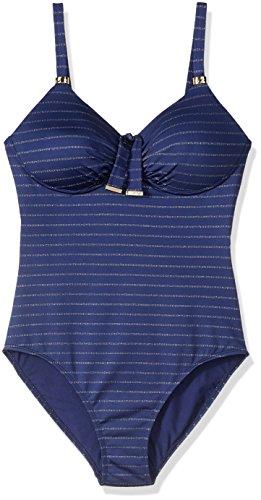 Amoena Damen Einteiler Andros Pocket - Blau - 44