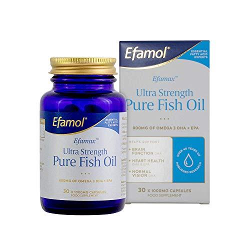 Efamol Efamax Ultra Strength Pure Fish Oil 30 Capsules, 98564