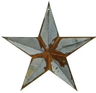 Rusty Galvanized Star, 12