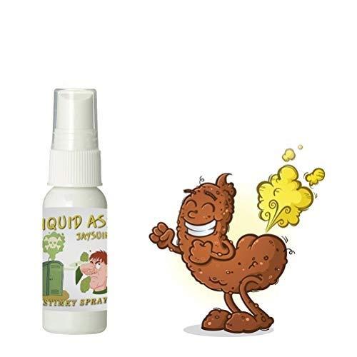 DUOCACL 30 ML nouveauté Liquide Pet puant Farce Blague Sprays Brume odorante Halloween Accessoires de Jour du Poisson d'avril Gags et blagues Pratiques