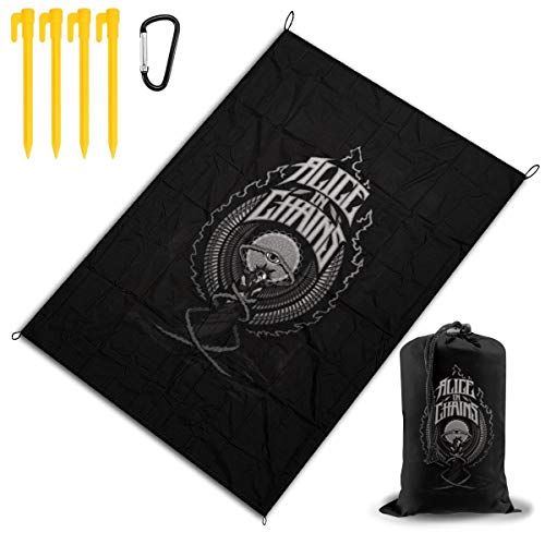 Purchase MWM Alice in Chains Beach Blanket Large Outdoor Picnic Blanket 57x80, Picnic Mat, Camping...