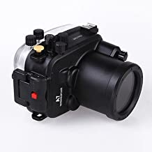 MEIKON 130ft 40m Underwater Waterproof Camera Housings Case for Sony A7 A7R A7S 28-70mmm Camera Lens