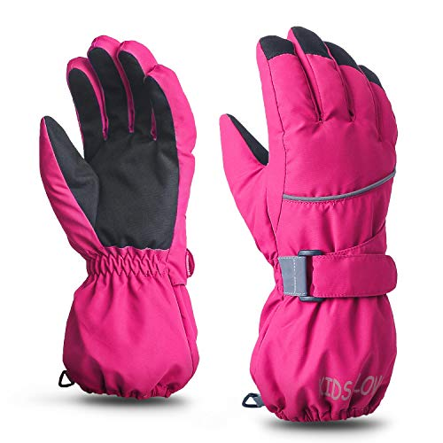 ThxToms Kids Warm Gloves Winter Waterproof Snow Gloves for Ourdoor...