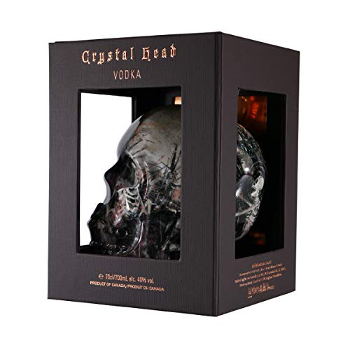Crystal Head Crystal Head Vodka John Alexander Artist Series 40% Vol. 0,7l in Giftbox - 700 ml