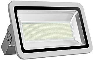 Missbee Super Bright 500W LED Flood Light, 55000lm Outdoor Landscape Flood Light, Security Light, 6000-6500K, Work for Garage, Garden, Lawn,Yard and Playground (Cold White)