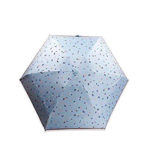 NFHBBAA Parapluie Pliant Pluie Parasol Femelle Petit Parapluie Parapluie De Poche