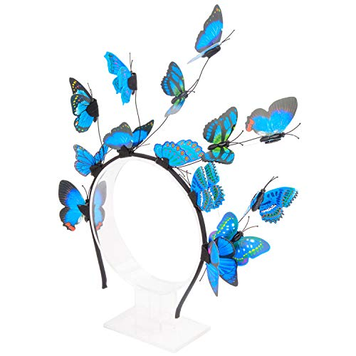 ZOYLINK Schmetterling Haarreif Womens Haarband Mode dekorative Schmetterling Braut Haarband Party Stirnband
