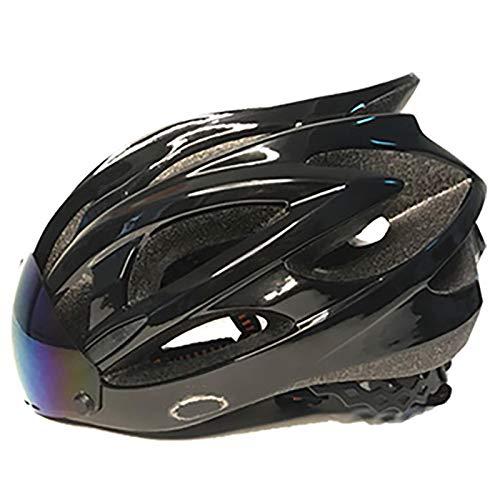 MTTKTTBD Ultralight Fahrradhelm mit Bluetooth,Erwachsene Specialized City Aerodynamik Verstellbar Radhelm mit Abnehmbarer Magnetischer Visier für Männer Frauen,Große Größe,CE-Zertifikat
