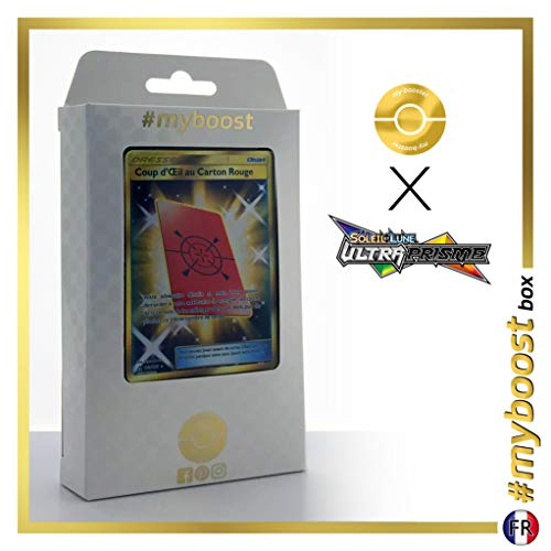 Coup d'Œil au Carton Rouge (Rote Späher-Karte) 169/156 Geheimer Trainer - #myboost X Soleil & Lune...