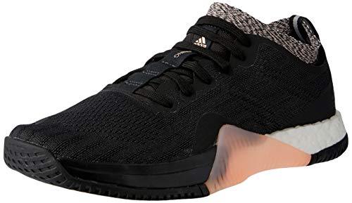 adidas Crazytrain Elite W, Zapatillas de Deporte Mujer, Negro (Negbás/Carbon/Narcla 000), 38 2/3 EU