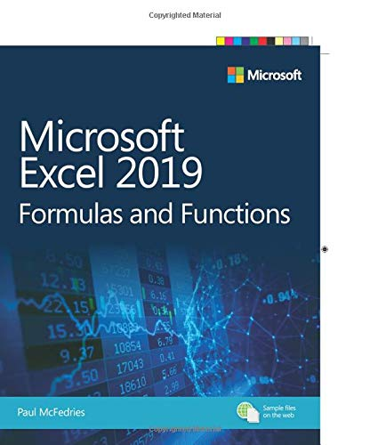 Mcfedries, P: Microsoft Excel 2019 Formulas and Functions (Business Skills)