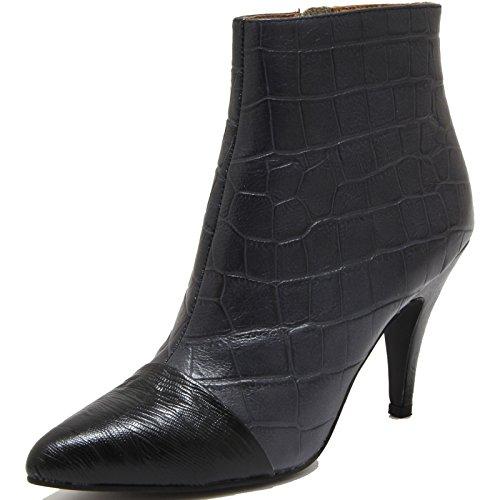 Jeffrey Campbell 78161 Tronchetto Jessa Scarpa Stivale Donna Boots Shoes Women [39]