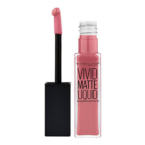 Maybelline New York Vivid Matte Liquid Rossetto Liquido Matte Vellutato, 05 Nude Flush
