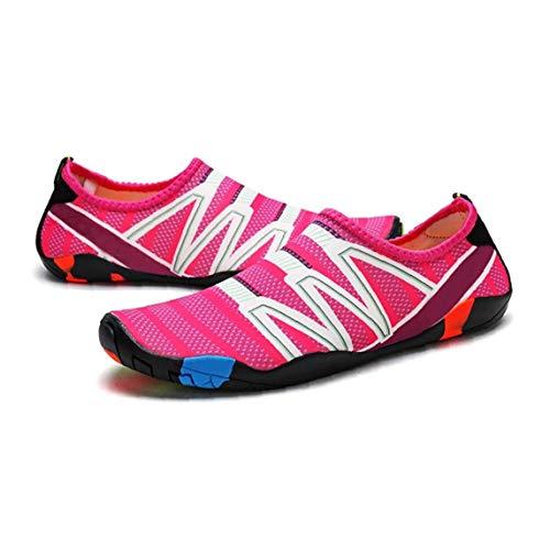 Los hombres y las mujeres de múltiples funciones del agua zapatos unisex Jugar Water Beach calzado transpirable calcetines de secado rápido zapatos para vacaciones