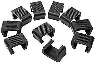 Varadyle Terrace Furniture Clip, 10PC Outdoor Furniture Clip Wicker Furniture Clip, Sofa Fastener Rattan Furniture Clip