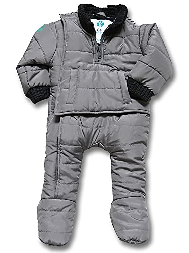 Buckle Me Baby Snowsuit Safer Car Seat One Piece Infant Winter...