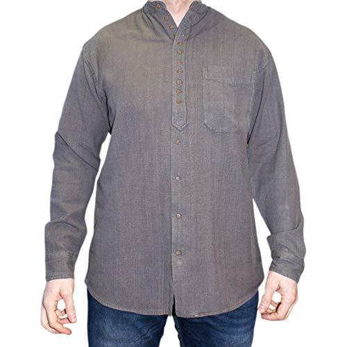 NADUR Stehkragenhemd - Irisches Stehkragenhemd - EW 13 Castlerock (L)