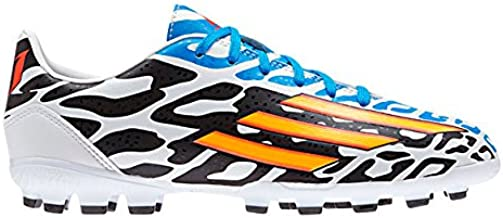adidas Botas F10 AG Blanco/Negro -Messi-: Amazon.es: Zapatos y complementos