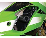 Shogun Suzuki GSXR600 GSXR 600 GSXR750 GSXR 750 2004 2005 Black No Cut Frame Sliders - 750-5409 - MADE IN THE USA
