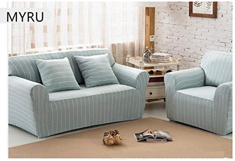 Modern Striped Sofa slipcovers Tight Wrap All-Inclusive ...