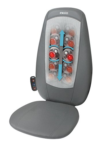 Homedics SBM-180H-EU Sedile Massaggiante Shiatsu con Opzione Calore,