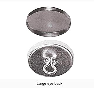 Wire Eye Button Mold | Wire Loop Back Cover | Used for Upholstery & Furniture | 1 Gross Box Makes 144 Buttons | #30