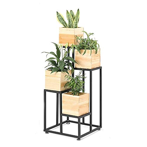 Buy Bargain JiangYuenly&12 Floor-Standing Plant Flower Stand Wrought Iron Flower Stand, Indoor Multi...
