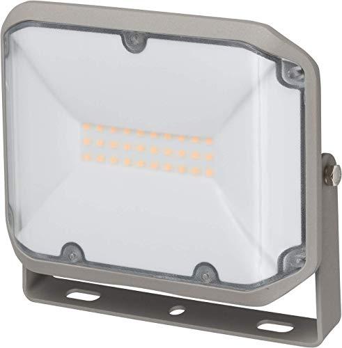 Brennenstuhl LED Strahler AL 2000 / LED Fluter für außen (LED-Außenstrahler zur Wandmontage, 20W, warmweißes Licht, IP44)