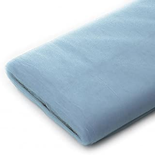 Tulle Fabric - 40 Yards Per Bolt (Light Blue)