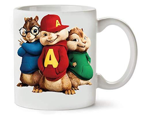 YoBrand Alvin And The Chipmunks tè e caffè Tazza