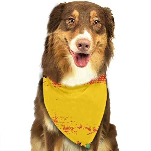 Aeykis Grunge Halloween Vector imagen perro bandana, triángulo baberos a cuadros bufanda pañuelo para perro gato mascota