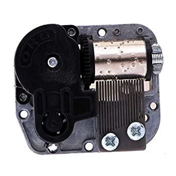 IYSHOUGONG 1 Pack Music Box Movement Wind Up Musical Mechanism Clockwork Mechanism Replacement for for DIY Music Boxes,Merry Christmas