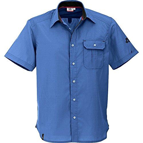 Maul 41311-75 Baza Campanula Chemise fonctionnelle à manches courtes pour homme Bleu Taille S