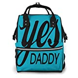 Yes Daddy - Bolsa de pañales impermeable multifunción para bebé, bolsas para...