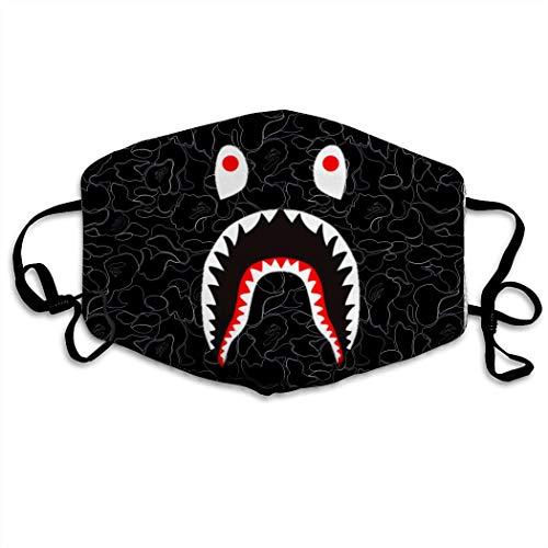 MOSDELU Bape Shark FaceAnti-Dust Anti-Pollution Windproof Cover