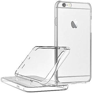 Le Petit Français® - Carcasa 2 en 1 para iPhone 6 Plus y 6S Plus 5,5 de protección transparente (1 delantero) (2 x ) trase...