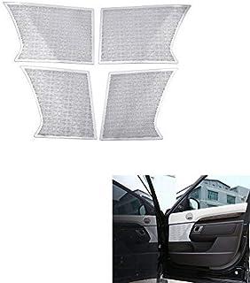 for Land Rover Discovery 5 Aluminum Alloy Door Horn Trim, Aluminum Alloy Interior Trim Accessories