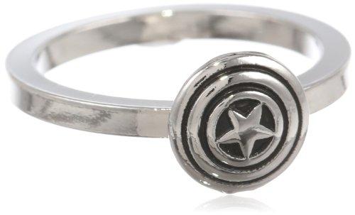 Marvel Comics Captain America Shield Ring, Size 7