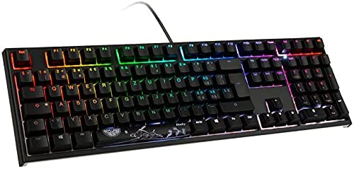 Ducky One 2 PBT retroiluminado, MX-Red, LED RGB – Negro