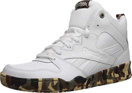 Reebok Men's Royal BB4500 HI2 Basketball Shoe, White/White/Camo, 6.5 M US