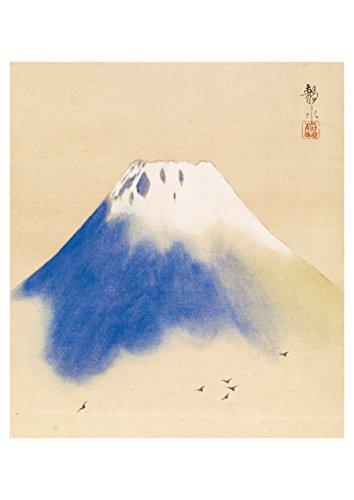 Monte Fuji tradicional japonés postal