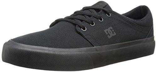 DC Herren Trase Tx Damen-Skater-Schuh, Schwarz/Schwarz/Schwarz, 34 EU