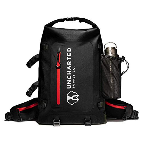 Uncharted Supply Co The Seventy2 Pro 2-Person Survival System (Black) - 72 Hour Emergency Preparedness Kit - Ideal for Your Car, Home, Survival Readiness, and Camping