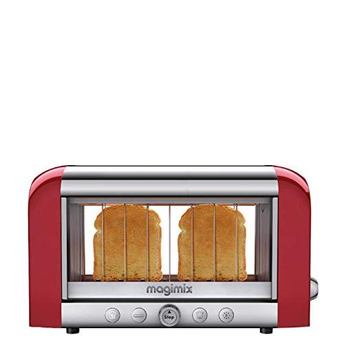 Magimix 11540 Toaster, Kunststoff, Metallisch, Rot