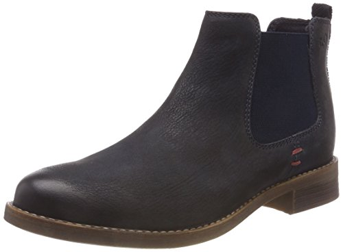 s.Oliver Damen 25335-31 Chelsea Boots, Blau (Navy 805), 37 EU