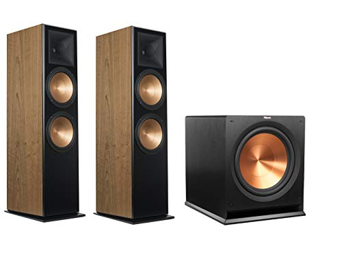 Buy Cheap Klipsch RF-7 III Floorstanding Speaker Pair (Cherry) with Klipsch R-115SW 15 Subwoofer