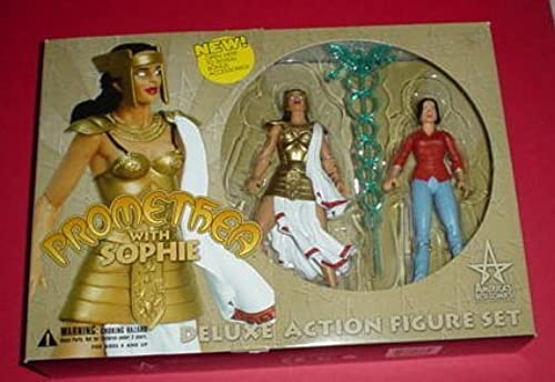 DC Direct Promethea with Sophie Deluxe Action Figur Set by