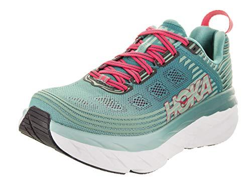 HOKA ONE One Bondi 6 Deportivas Mujeres Verde - 39 1/3 - Running/Trail
