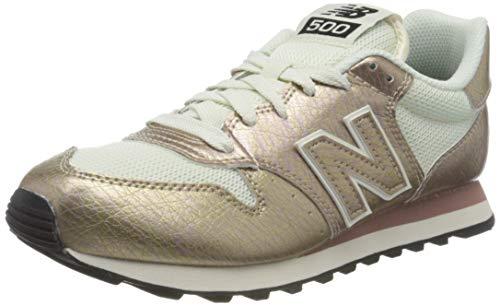 New Balance Damen 500 d Sneaker, Pink (Sea MSC), 40.5 EU