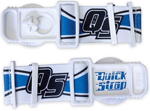 Acerbis Helm-Brillenhalterungssystem Quick Strap Weiß